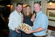 Great British Bake Off finalist creates heart-shaped doughnuts for engagement party