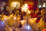 Teddington lit up with Christmas lantern parade