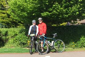 Pedal power: Family trio saddle up for London to Paris cycle in memory of grandfather